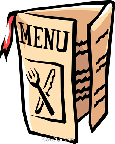 Restaurant Menu Royalty Free Vector Clip Art illustration food0793