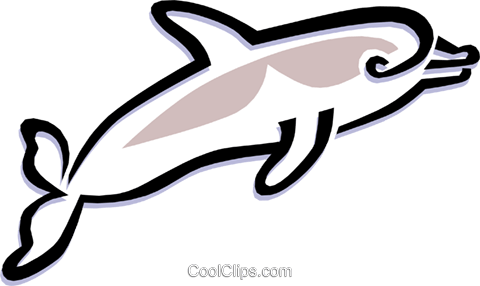 whale Royalty Free Vector Clip Art illustration anim1480