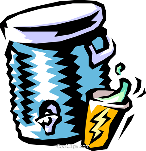 water cooler Royalty Free Vector Clip Art illustration food0755