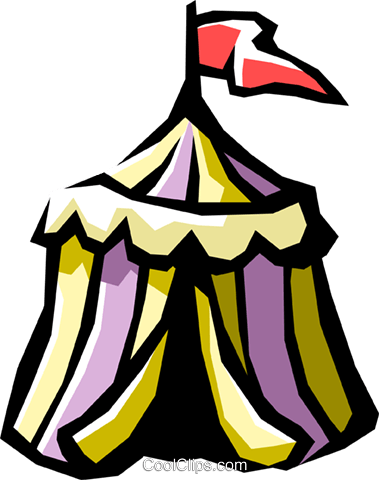 tent Royalty Free Vector Clip Art illustration hous1023