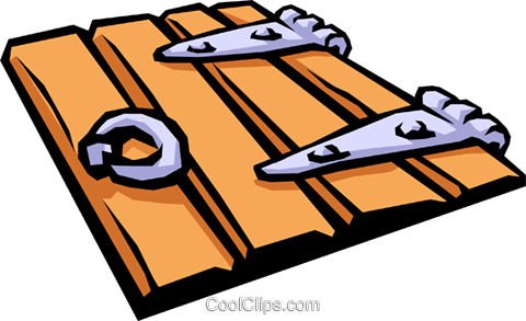 trapdoor Royalty Free Vector Clip Art illustration hous1024