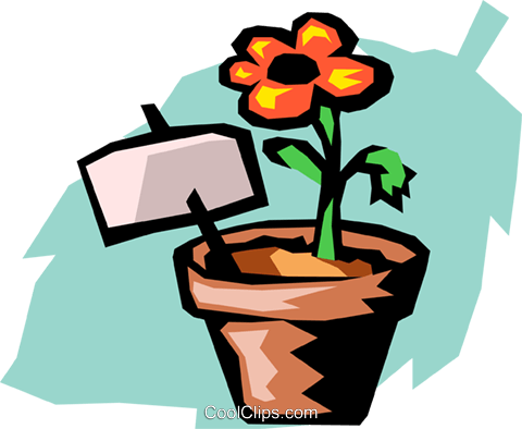 flower Royalty Free Vector Clip Art illustration natu0697