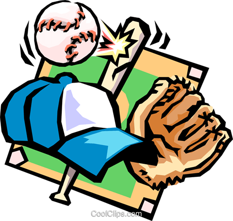 baseball Royalty Free Vector Clip Art illustration spor0215