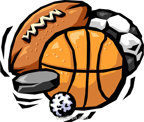 sports in general Royalty Free Vector Clip Art illustration spor0226