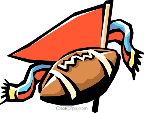 football game Royalty Free Vector Clip Art illustration spor0228