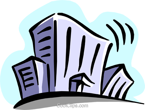 building Royalty Free Vector Clip Art illustration busi1245