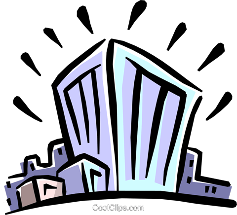 buildings Royalty Free Vector Clip Art illustration busi1247