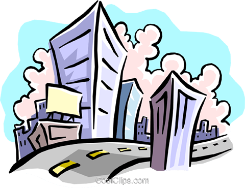 buildings Royalty Free Vector Clip Art illustration busi1248