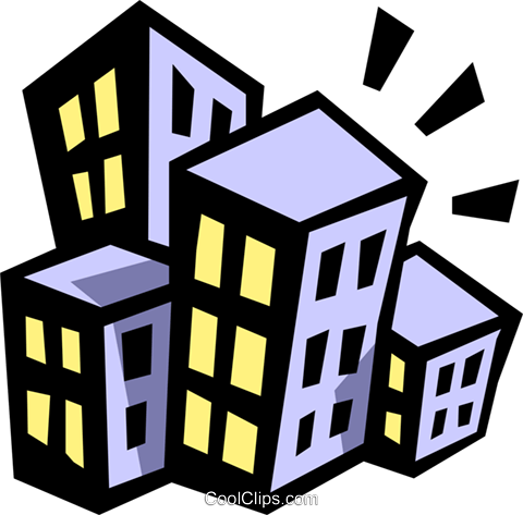 buildings Royalty Free Vector Clip Art illustration arch0404