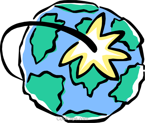 global communications Royalty Free Vector Clip Art illustration envi0211