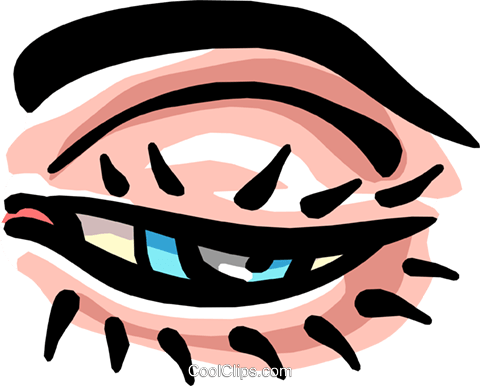 eye Royalty Free Vector Clip Art illustration medi0326