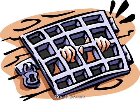 prison Royalty Free Vector Clip Art illustration cart1892