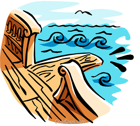 gang plank Royalty Free Vector Clip Art illustration cart1901