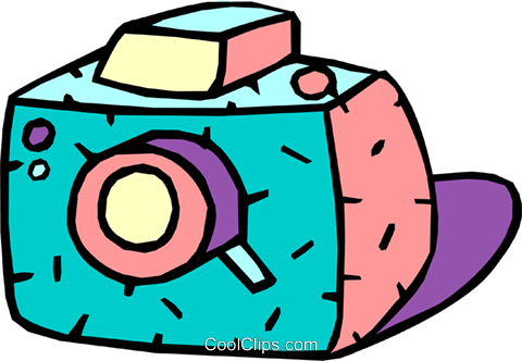 camera Royalty Free Vector Clip Art illustration cart1938