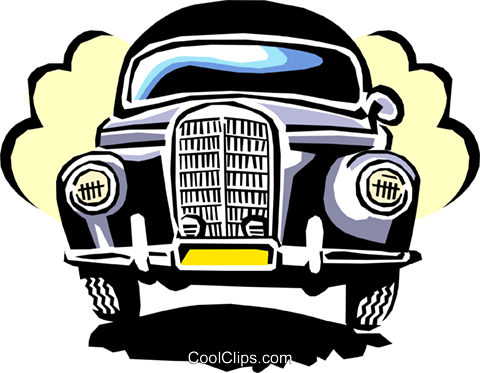 automobile Royalty Free Vector Clip Art illustration tran0762