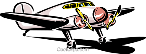 plane Royalty Free Vector Clip Art illustration tran0774