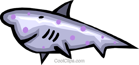 shark Royalty Free Vector Clip Art illustration anim1567