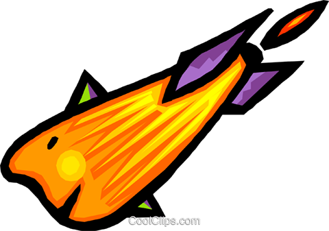 rocket Royalty Free Vector Clip Art illustration anim1569