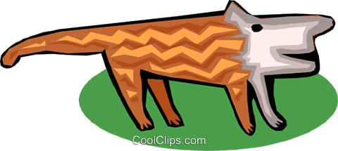 animal Royalty Free Vector Clip Art illustration anim1570
