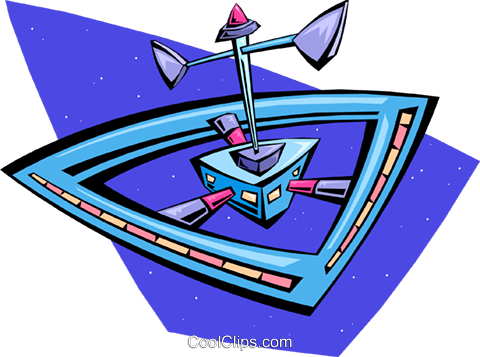 space station Royalty Free Vector Clip Art illustration cart2003