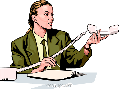 woman on phone Royalty Free Vector Clip Art illustration peop2298