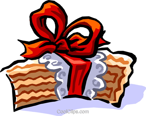 Wedding cake Royalty Free Vector Clip Art illustration even0679
