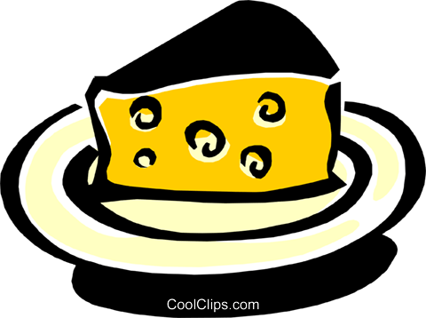 cheese Royalty Free Vector Clip Art illustration food0828