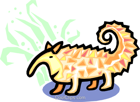 animal Royalty Free Vector Clip Art illustration anim1589