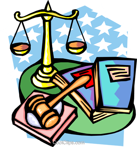 justice Royalty Free Vector Clip Art illustration busi1398