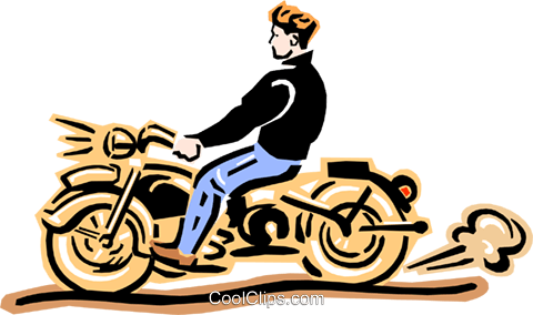 motorcycle Royalty Free Vector Clip Art illustration tran0831