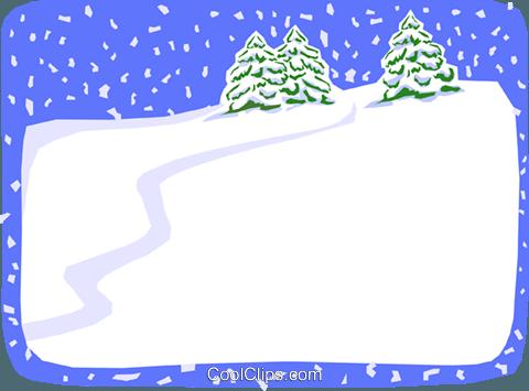 Schnee Hintergrund Vektor Clipart Bild Text1576 Coolclips Com