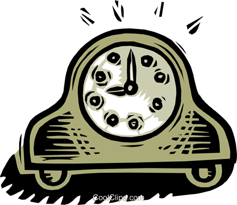 clock - old-fashioned Royalty Free Vector Clip Art illustration hous1220