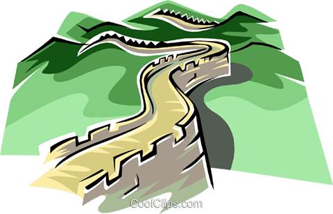 great wall of china royalty free vector clip art illustration rh search coolclips com free clipart great wall of china great wall of china clipart