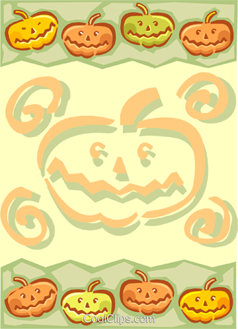 Background/Halloween Royalty Free Vector Clip Art illustration spec0115