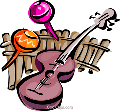 musical motif Royalty Free Vector Clip Art illustration ente0042