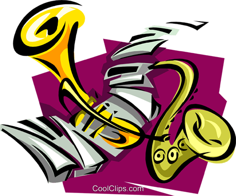 musical motif Royalty Free Vector Clip Art illustration ente0045