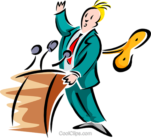 Public Speaking Stock Illustrations  Royalty Free  GoGraph