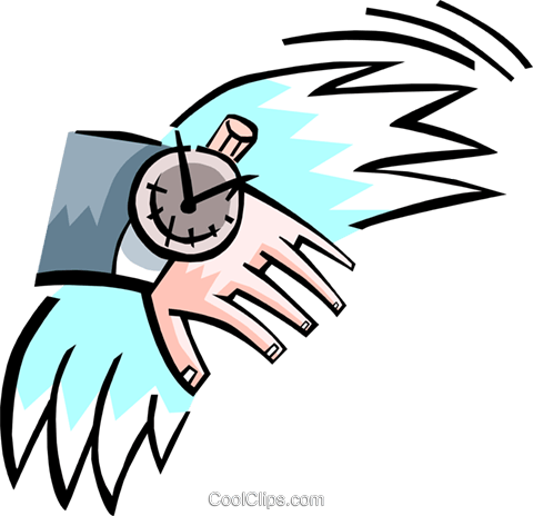 time Royalty Free Vector Clip Art illustration busi1469