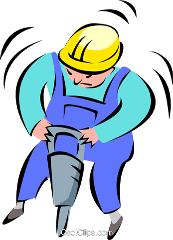construction worker Royalty Free Vector Clip Art illustration peop2647
