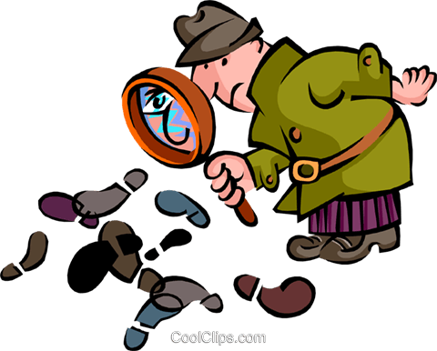 Sherlock Holmes Royalty Free Vector Clip Art illustration peop2699