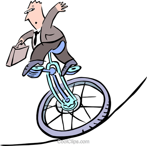 business/balancing act Royalty Free Vector Clip Art illustration peop2724