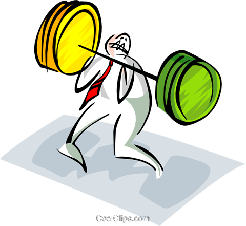 business/training Royalty Free Vector Clip Art illustration peop2840