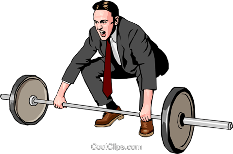 business/training Royalty Free Vector Clip Art illustration peop2847