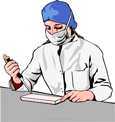 Medical professional Royalty Free Vector Clip Art illustration peop2855