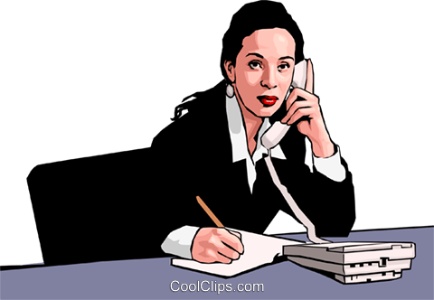 business woman Royalty Free Vector Clip Art illustration peop2864