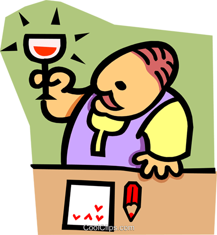 bartender Royalty Free Vector Clip Art illustration peop2876