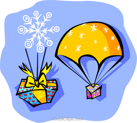 gifts or presents Royalty Free Vector Clip Art illustration spec0239