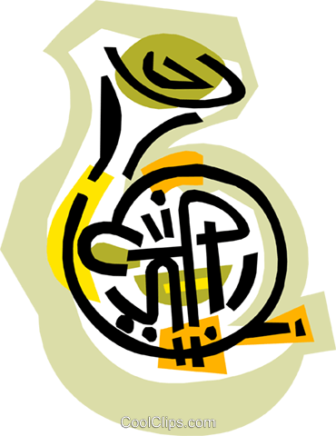 tuba Royalty Free Vector Clip Art illustration ente0072