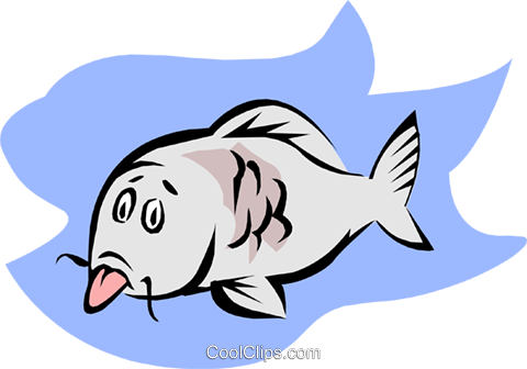fish Royalty Free Vector Clip Art illustration anim1849