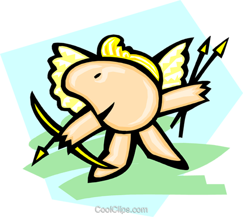 angels Royalty Free Vector Clip Art illustration peop2961